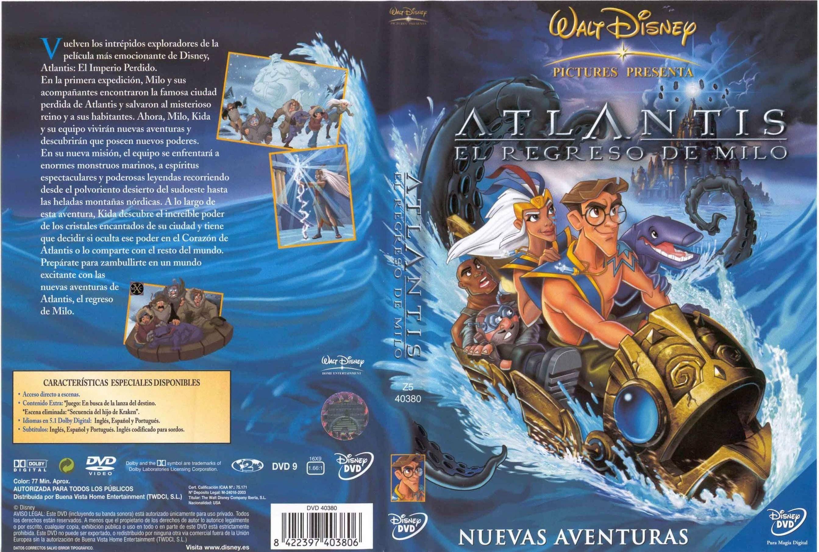 atlantis el regreso de milo latino
