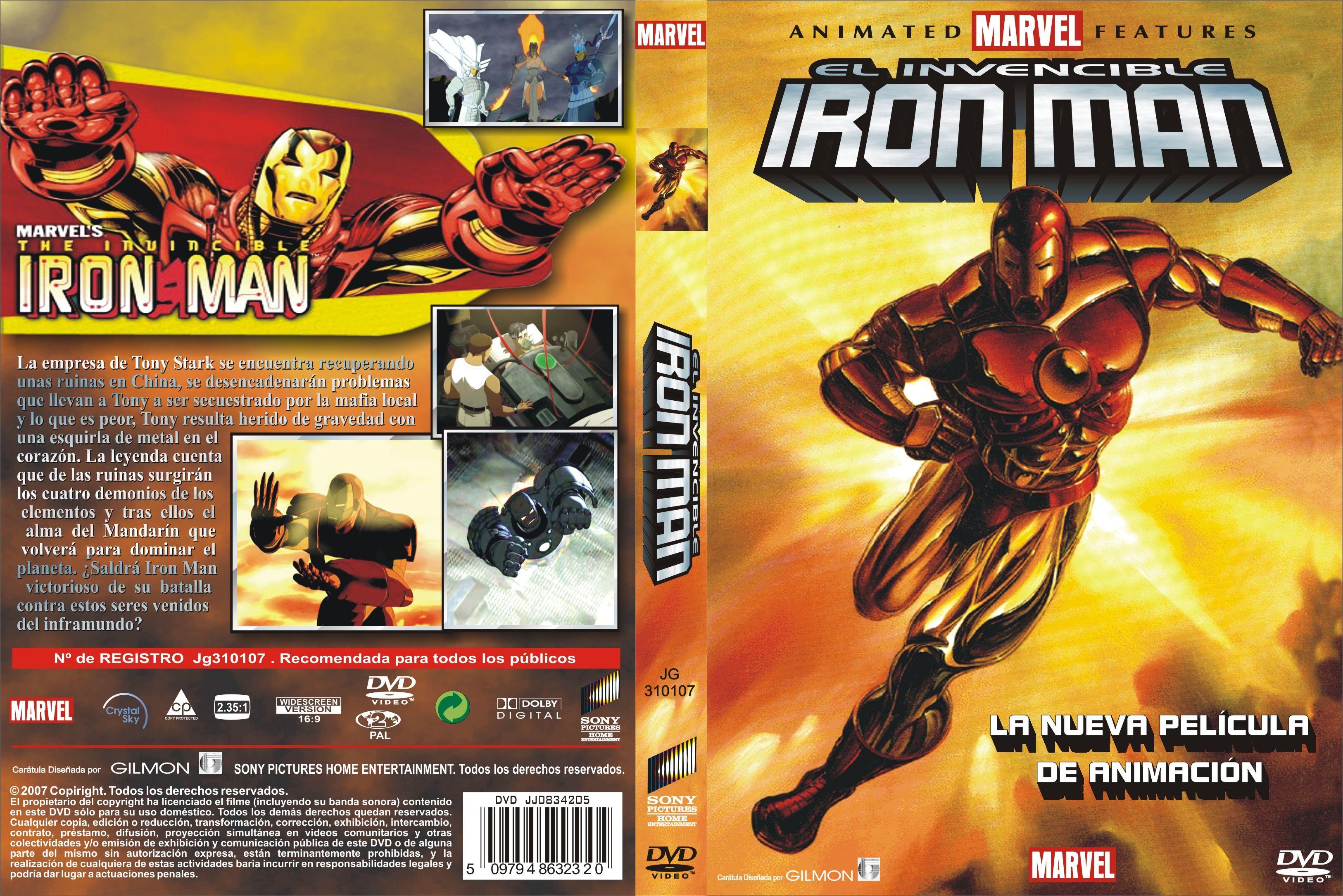El Invencible Iron Man Custom Por Jhongilmon – dvd | Dx