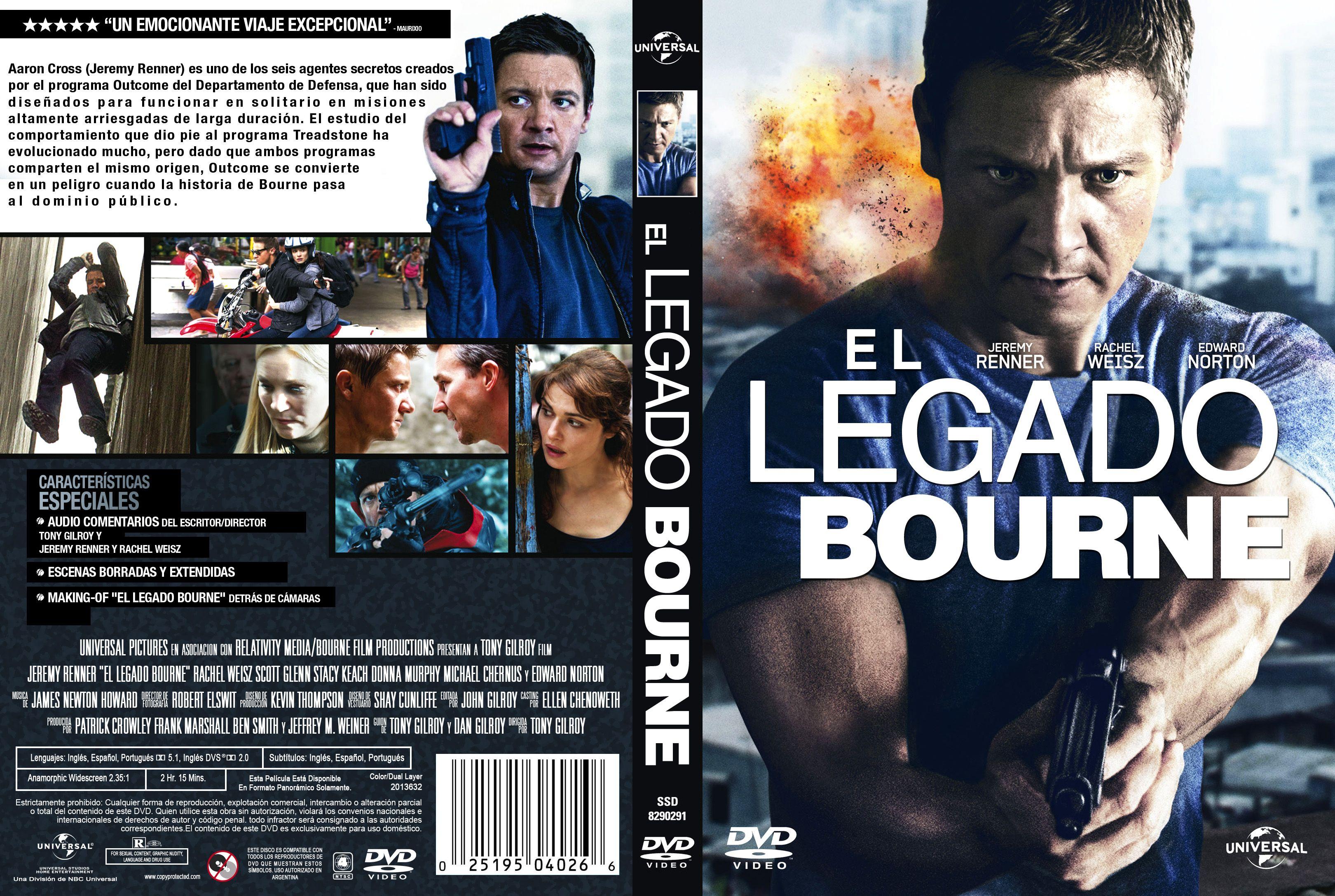 Legado Bourne Custom V3 Por Sorete22 – dvd  Dx ESTRENOS NICARAGUA