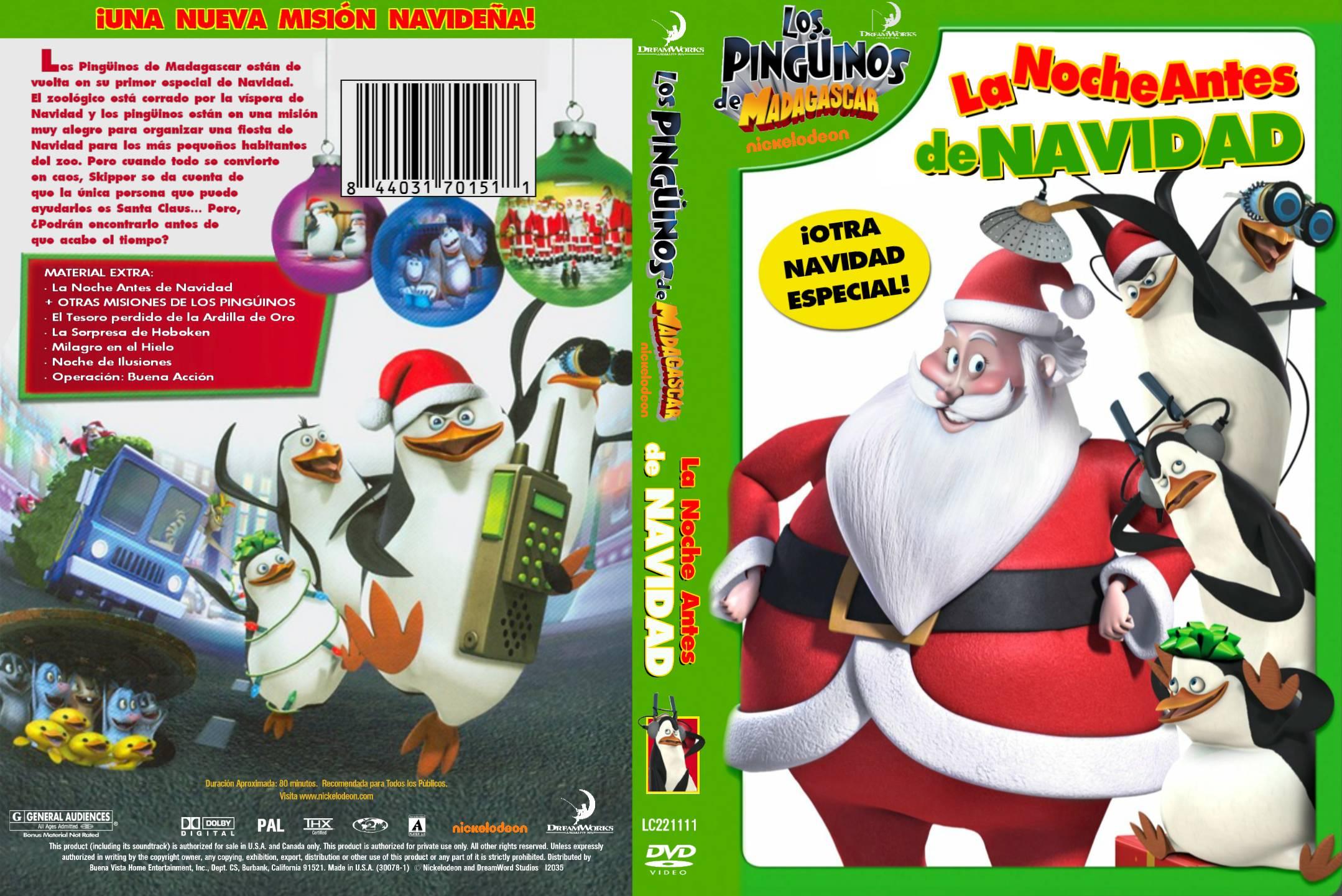 Ver Pinguinos de Madagascar en Navidad online y gratis   Peliculascom